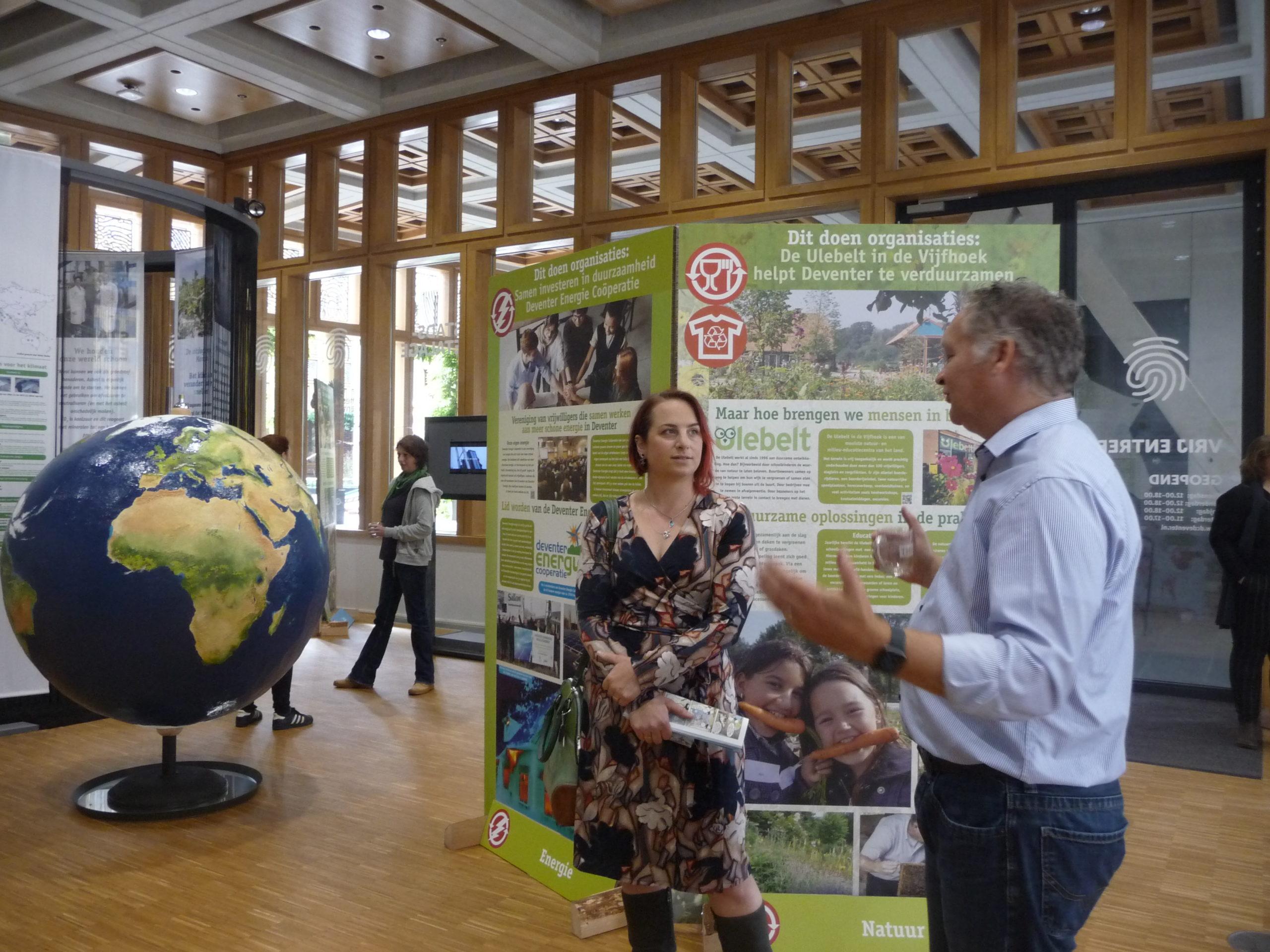Duurzaamheidscentrum Deventer inspiratie voor andere gemeenten