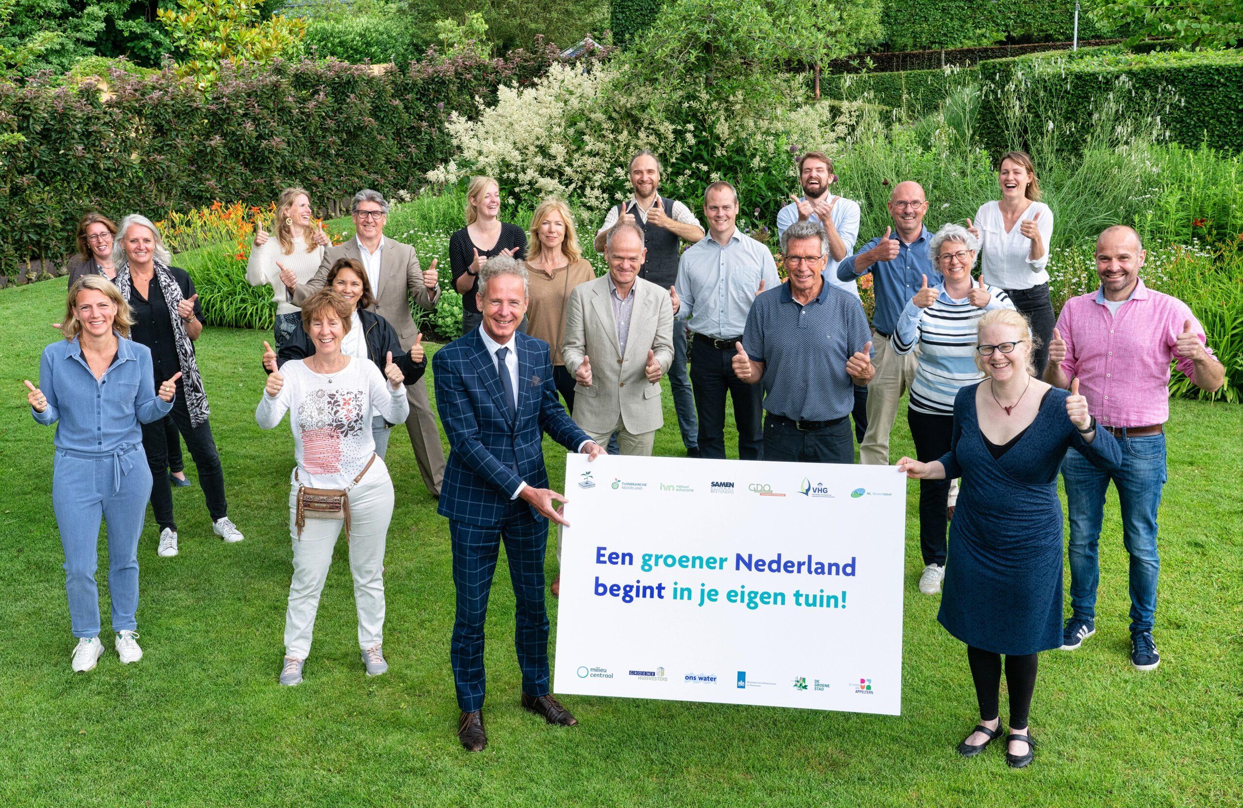 Campagne moet noodzakelijke vergroening van tuinen versnellen